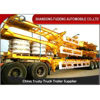 Wholesale Tandem Axle Skeletal Container Trailer With 12R22.5 Tire 40ft  Dimension from china suppliers