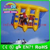 Wholesale Riding a water flyfish boat air sealed inflatable water fly fish flying fish boat from china suppliers