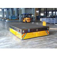 Wholesale Motorized trackless transfer bogie for steel facolity transport from china suppliers