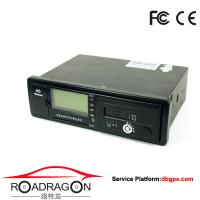 Wholesale Black Vehicle Traveling Driving Recorder GPS device support GSM GPRS communication modes from china suppliers