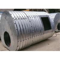 Buy cheap 2.5m*2.1m Steel Culvert Underground with 150*50mm corrugation from wholesalers
