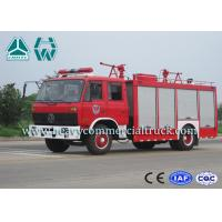 Wholesale Double Cabin Dry Powder Fire Fighter Truck 4 x 2 Dongfeng Chassis from china suppliers
