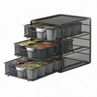 Wholesale 36K Cup Coffee Storage Drawer, Measures 215x178x215mm from china suppliers