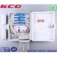 Quality Outdoor 12 Ports FTTH GPON FTTB Optical Fiber Distribution Box KCO-FDB-12D for sale