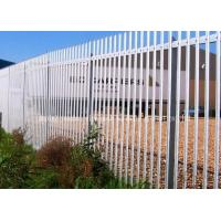 Wholesale Hot Dip Galvanized Metal Palisade Fencing Heat Treated Pressure Treated Wood Type from china suppliers