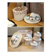 Quality Laundry basket willow basket storage basket for sale
