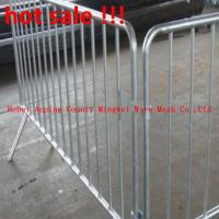 Wholesale Galvanized Bata fence steel tube crowd control barriers removable fence from china suppliers