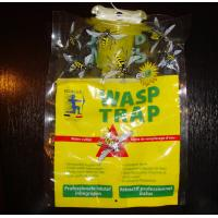 Buy cheap Eco-Friendly Disposable Hanging Fly Trap Wasp Trap bag with bait attractant from wholesalers