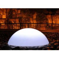 Wholesale Outdoor Rechargeable Waterproof Floating Led Sphere Ball Multi Colors Changing from china suppliers