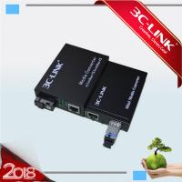 Wholesale Durable Mini Fiber Optic Media Converter / Fiber Ethernet Converter With 10/100Mbps from china suppliers