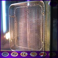 Wholesale Sterilization Stainless Steel Wire Mesh Tray and Basket PRICE from china suppliers