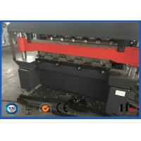 Wholesale Touch Screen Double Layer Roll Forming Machine , Roof Tiles Making Machine from china suppliers