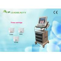 Wholesale Anti - Wrinkle Hifu Skin Rejuvenation Equipment  4 MHZ / 7 MHZ 2 Years Warranty from china suppliers