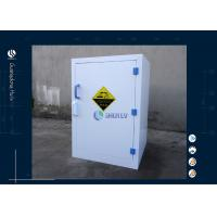 Wholesale 12 Gallon 45 L Acid Storage Cabinet Corrosive Chemical For Laboratory Imported PP Materials from china suppliers