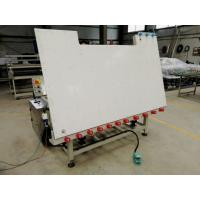 Buy cheap Single Side Double Glazing Equipment Heated Roller Press Table With Air Float & Tilting from wholesalers