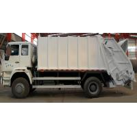 Wholesale Professional 4×2 Garbage Collection Truck 10-12 CBM Rubbish Bin Truck from china suppliers
