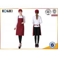 Wholesale Portable Custom Cooking Aprons , Waitress Personalized Chef Aprons from china suppliers