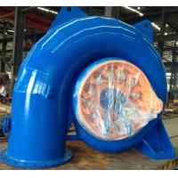 Wholesale Stainless Steel Runner Horizontal Small Francis Turbine 100kW - 500kW from china suppliers