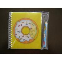 Quality A4 / A5 / A6 soft cover 300g white card Lenticular Notebook for sale