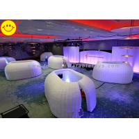 Wholesale Customized Inflatable Structure Inflatable Office Pod Tent Mini Lighting For Decoration from china suppliers