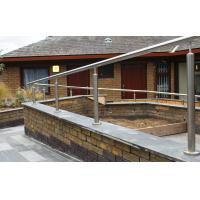Buy cheap railing system balcony balustrade stainless steel pipe handrail from wholesalers