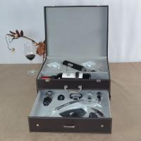 Wholesale Deluxe Wine Accessories Gift Box With Cordless Design Electric Polyresin Wine Opener from china suppliers