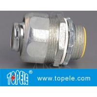 Wholesale Flexible Conduit And Fittings , Straight Malleable Iron Liquid Tight Connector from china suppliers