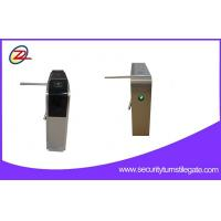 Quality Stainless Steel Access Tripod Turnstile Gate / turnstile security systems For Attendance for sale