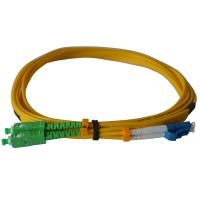Wholesale Duplex SC/APC Fiber Optic Patch Cables SM For Telecom Networks RoHS Compliant from china suppliers