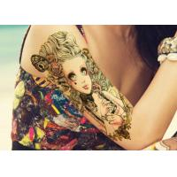 Wholesale Water Transfer Temporary Body Tattoo Stickers , Temporary Tattoo Sheets from china suppliers