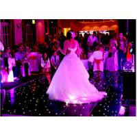 Wholesale Rgb Stage Lighting Slim Video Dance Floor For Wedding Party Events , 3 Years Warranty from china suppliers