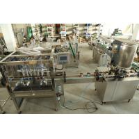 Wholesale Stainless Steel Liquid Tin Can Filling Machine For Filling Wine / Vinegar And Medicine from china suppliers