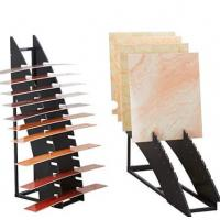 Wholesale Morden Design Decorative Display Stands , Ceramic Tile Sample Display Rack from china suppliers