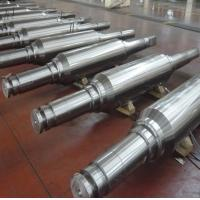Wholesale DIN 86CrMoV7(1.2327) Forged Forging Steel Cold mill work rolls straightening rolls,back-up rolls Rollers Leveller rolls from china suppliers