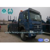 Wholesale Blue Lift Strength Wrecker Tow Truck Mounted Crane , Original Multi Way Valve from china suppliers