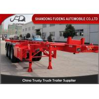 Wholesale 40 Feet Steel Chassis Container Trailer For Container Transportation from china suppliers