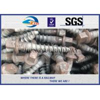 Wholesale Track Hex Head Railway Sleeper Screws , Square Head Screw Spike from china suppliers
