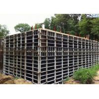 Wholesale Steel Concrete Wall Formwork With Adjustable Clamp for Straight Wall Construction from china suppliers