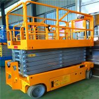 Wholesale 10m Portable Articulating Boom Lift Stable Performance For Aerial Working from china suppliers