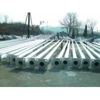 Wholesale OEM Road Steel Light Pole Hot Dip Galvanized Street Lamp Pole from china suppliers