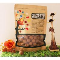 Wholesale Flat Bottom Zipper Kraft Paper Food Plastic Bags With Clear Window from china suppliers
