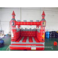 Wholesale Red Color Inflatable Bouncy Castle Safe Packing With 2-4 Kids Capacity from china suppliers