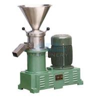 Wholesale Sanitary food grinding machine stainless steel colloid mill peanut butter sesame paste colloid mill from china suppliers