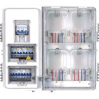 Wholesale 1 Phase Outside Electrical Meter Box 4 Positions For Main 20 - 40 A from china suppliers