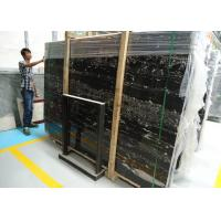 Wholesale Heavy Duty Bathroom Marble Slabs , Black Marble Slab For Dining Room Worktop from china suppliers