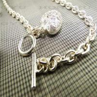 Buy cheap New Design Sliver Necklaces from wholesalers