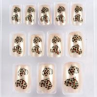 Wholesale Healthy adult Nail Art Fake Nails For Wedding , Heart pattern from china suppliers