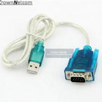 Wholesale USB to RS232 Converter Cable DB9 Serial Device Adapter Cable from china suppliers