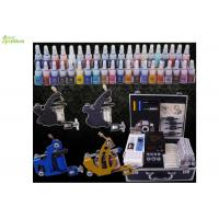 Wholesale Portable Complete Color Ink Professional Tattoo Kits For Line And Shading from china suppliers