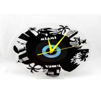 Wholesale Fancy Vinyl Record Reverse Wall Clock , Holiday Gift Chiming Wall Clocks Unique from china suppliers